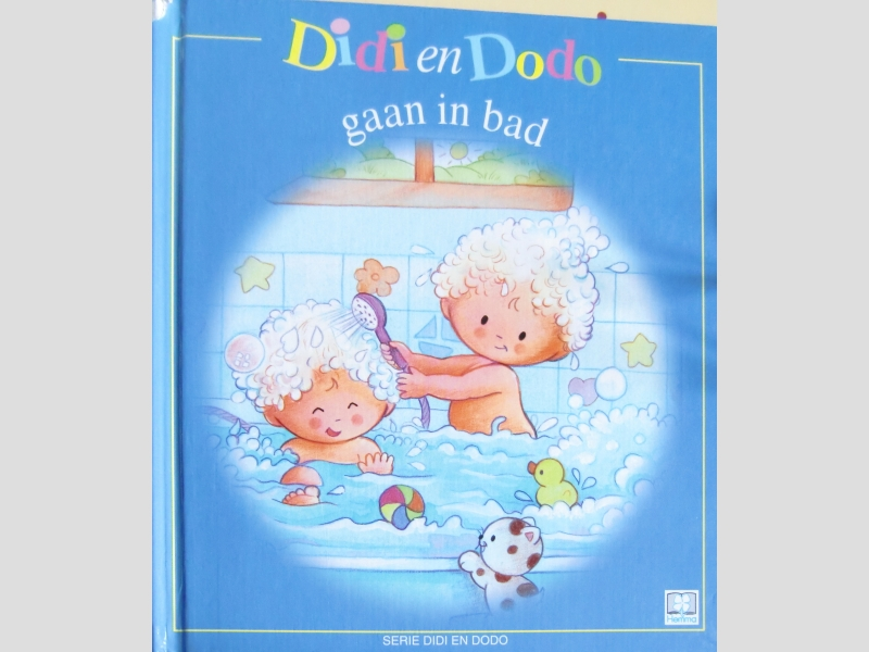 Didi en Dodo gaan in bad