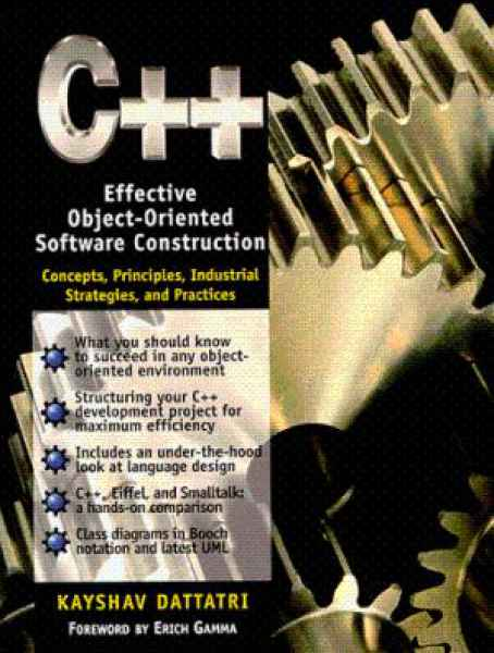 C++: Effective Object-Oriented Software Construction
