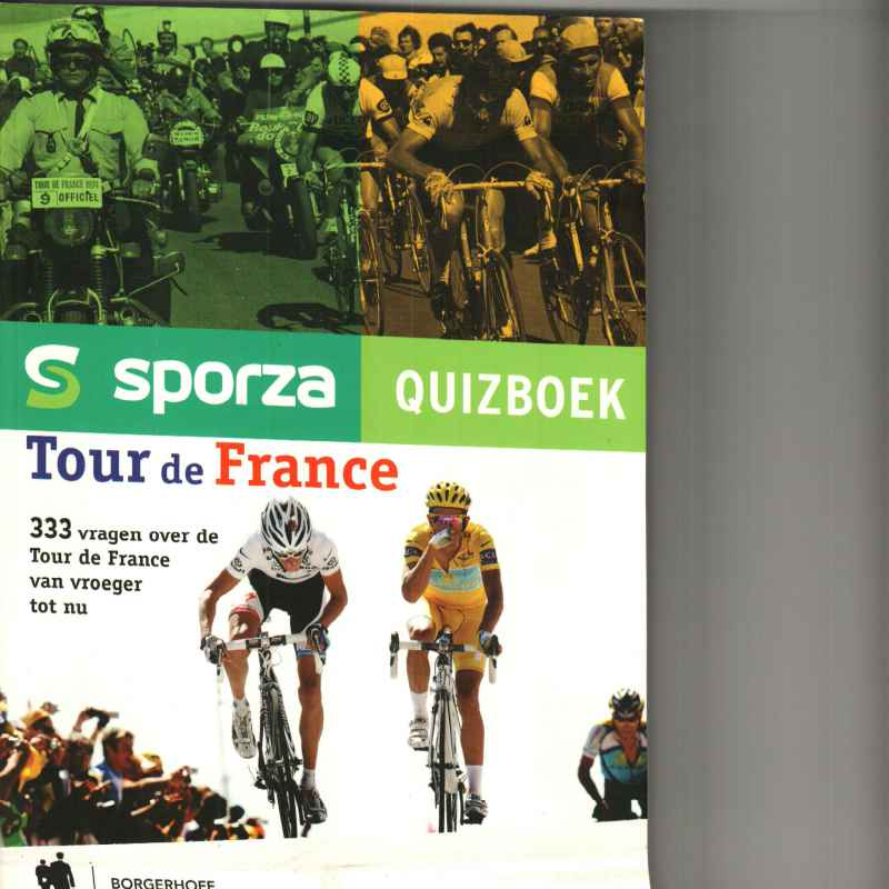 SPORZA QUIZBOEK TOUR DE FRANCE