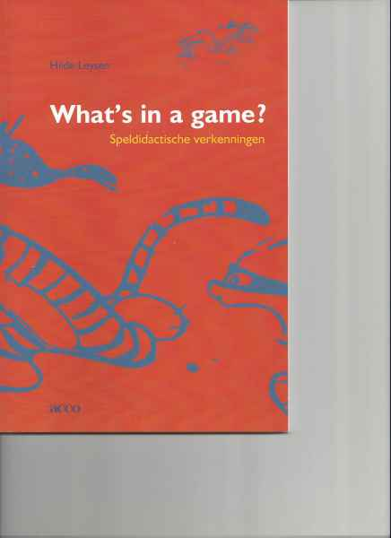 What's in a game? Speldidactische verkenningen